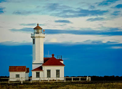 Point Wilson Lighthouse Poster by Ronda Broatch