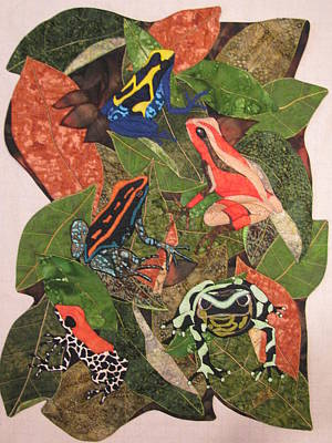 Poison Dart Frogs #2 Poster by Lynda K Boardman