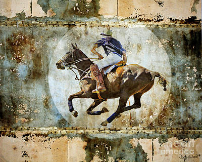 Polo Pursuit Poster by Judy Wood