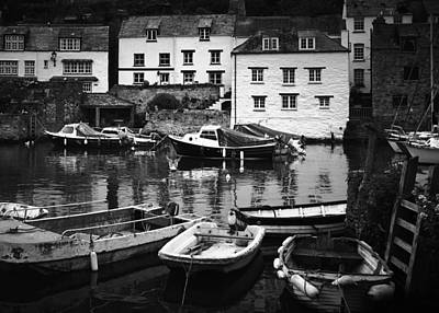 Polperro At Rest Poster by Steve and Jenni Thorp
