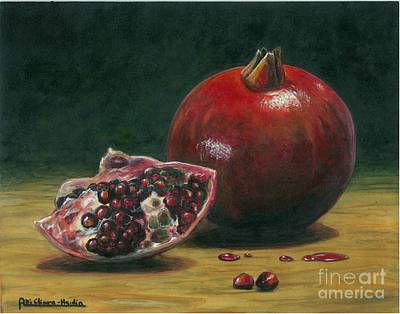 Pomegranate Poster by Italian Art