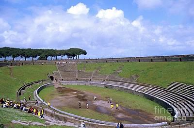 Pompeii Amphitheatre Poster by Pasquale Sorrentino