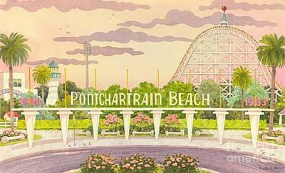 Pontchartrain Beach Poster by Joyce Hensley