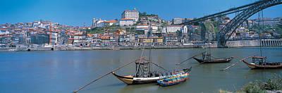Ponte De Dom Luis I & Douro River Porto Poster by Panoramic Images
