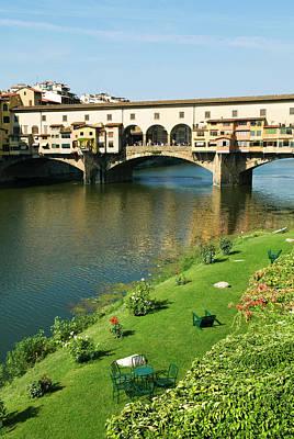 Ponte Vecchio (14th Century Poster by Nico Tondini