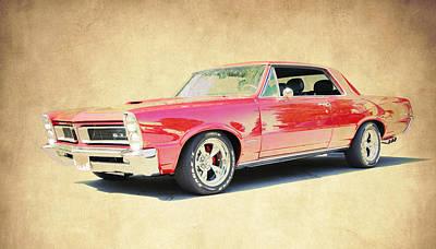Pontiac Gto Poster by Steve McKinzie