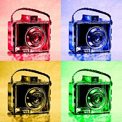Pop Art Brownie Cameras Poster by Jon Woodhams
