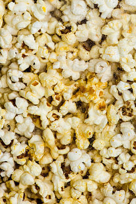 Popcorn - Featured 3 Poster by Alexander Senin
