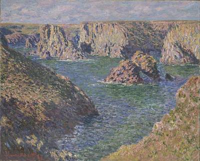 Port-domois, Belle-isle, 1887 Poster by Claude Monet