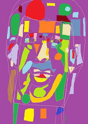Portrait Globe Poster by Anita Dale Livaditis