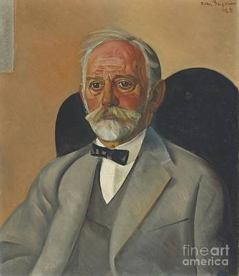 Portrait Of A Gentleman Poster by Celestial Images