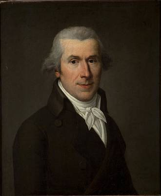 Portrait Of A Man, C.1799-1800 Oil On Canvas Poster by Jean Louis Laneuville