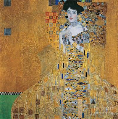 Portrait Of Adele Bloch-bauer I Poster by Gustav Klimt