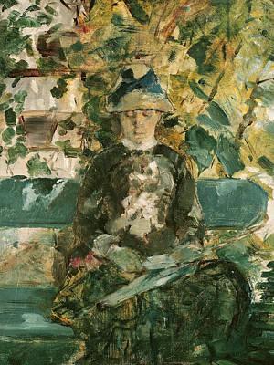 Portrait Of Adele Tapie De Celeyran Poster by Henri de Toulouse-Lautrec