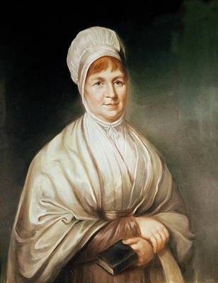 Portrait Of Elizabeth Fry 1780-1845 Poster by English School