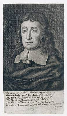 Portrait Of John Milton Poster by British Library