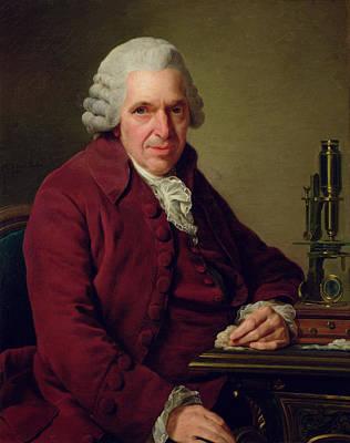 Portrait Of Louis Jean Marie Daubenton 1716-1800 1791 Oil On Canvas Poster by Alexander Roslin