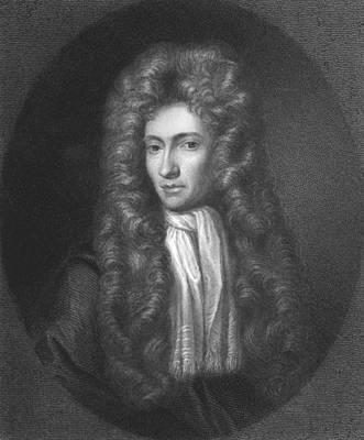 Portrait Of Robert Boyle Poster by R. Woodman