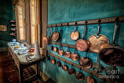 Pots And Pans Poster by Adrian Evans