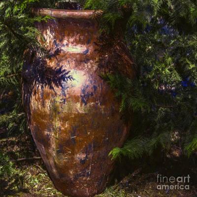 Potters Clay Poster by Jean OKeeffe Macro Abundance Art