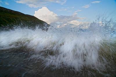 Power Of The Sea Keem Beach Ireland Poster by Betsy C Knapp