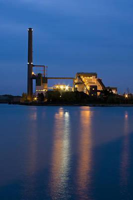 Power Plant Poster by Adam Romanowicz