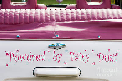 Powered By Fairy Dust Poster by Tim Gainey