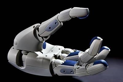 Pr2 Robot Hand Poster by Patrick Landmann