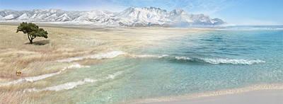 Prairie Ocean Poster by Sonya Shannon