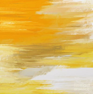 Precious Metals Abstract Poster by Andee Design