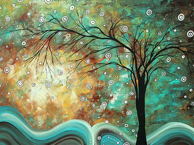 Pretty As A Picture By Madart Poster by Megan Duncanson