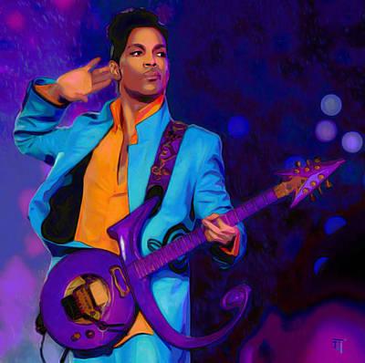 Prince 3 Poster by  Fli Art