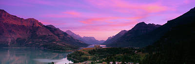 Prince Of Wales Hotel In Waterton Lakes Poster by Panoramic Images