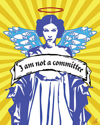 Princess Leia Organa Poster by Decorative Arts