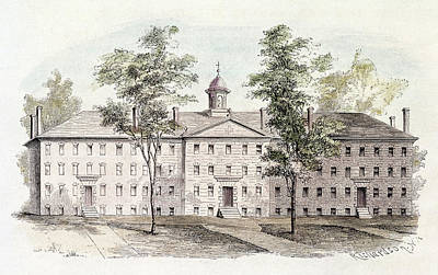 Princeton College, 1760 Poster by Granger