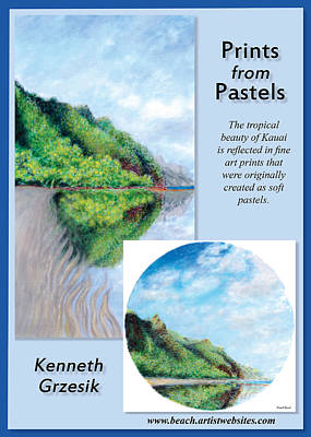 Prints From Pastels Poster by Kenneth Grzesik
