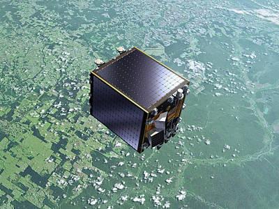Proba-v Satellite Poster by Esa-p.carril