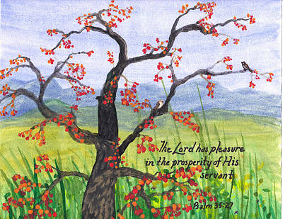 Prosperity Poster by Catherine Saldana