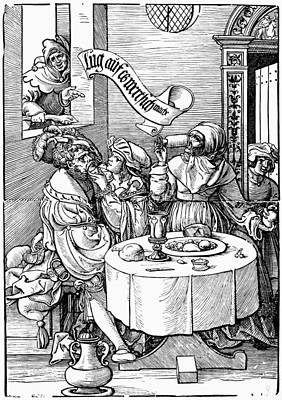 Prostitution, 16th Century Poster by Granger