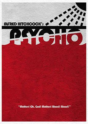 Psycho Poster by Ayse Deniz
