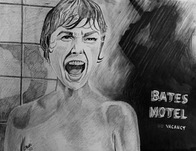 Psycho Poster by Jeremy Moore