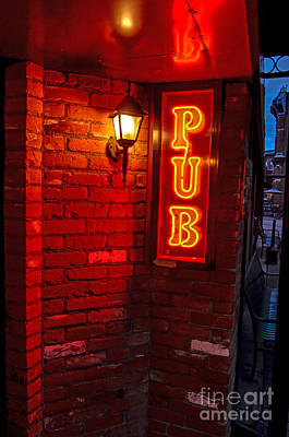 Pub Poster by Baywest Imaging