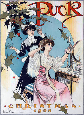Puck Christmas, 1908 Poster by Science Source