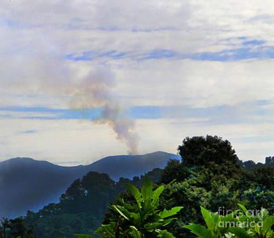 Puff The Magic Volcano II Poster by Al Bourassa