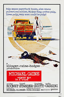 Pulp, Us Poster, Michael Caine, 1972 Poster by Everett