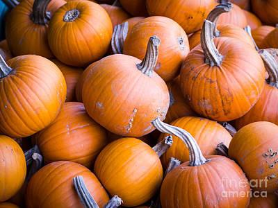Pumpkins Poster by Edward Fielding