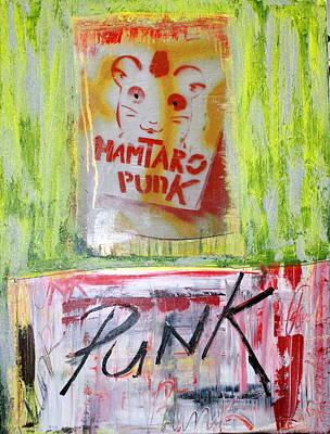 Punk Poster by Sanne Rosenmay