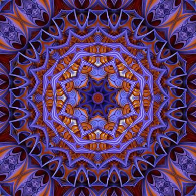 Purple Design 1 Poster by Lilia D