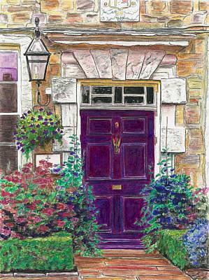Purple Door Poster by Helen White