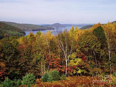 Quabbin Reservoir Poster by Michelle Welles
